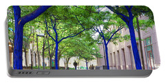 Blue Tree Walkway Portable Battery Charger