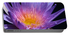 Blue Waterlily 2 Portable Battery Charger