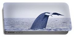 Blue Whale Tail Fluke With Remoras Portable Battery Charger