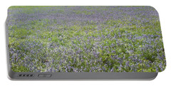 Bluebell Fields Portable Battery Charger by John Williams