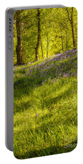 Bluebell Flowers Portable Battery Charger