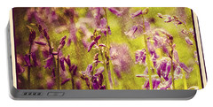 Bluebell In The Woods Portable Battery Charger by Spikey Mouse Photography