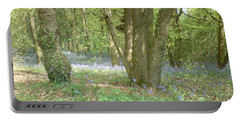 Bluebell Wood Portable Battery Charger by John Williams