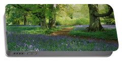 Bluebells In A Forest, Thorp Perrow Portable Battery Charger