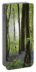Bluebells In The Woods Portable Battery Charger