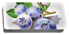 Artz Vitamins The Blueberries Portable Battery Charger