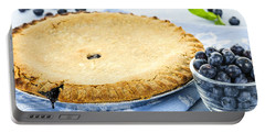 Blueberry Pie Portable Battery Charger