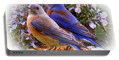 Bluebird Wedding Portable Battery Charger by Jean Noren