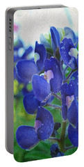 Bluebonnet Charmer Portable Battery Charger