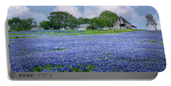 Bluebonnet Farm Portable Battery Charger