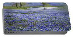 Bluebonnet Pond Portable Battery Charger