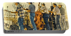 Bluegrass Evening Portable Battery Charger by Robert Frederick