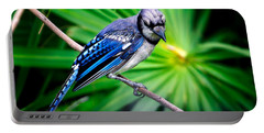 Thoughtful Bluejay Portable Battery Charger