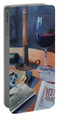 Blues And Wine Portable Battery Charger