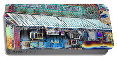 Blues Club In Clarksdale Portable Battery Charger