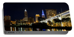 Blues In Cleveland Ohio Portable Battery Charger by Dale Kincaid