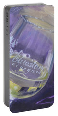 Bluestone Vineyard Wineglass Portable Battery Charger