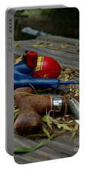 Portable Battery Charger featuring the photograph Blured Memories 01 by Peter Piatt