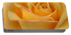 Blushing Yellow Rose Portable Battery Charger