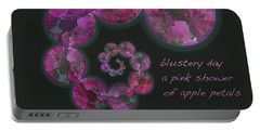 Blustery Day Haiga Portable Battery Charger