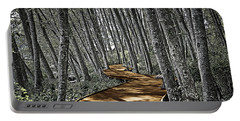 Boardwalk In The Woods Portable Battery Charger