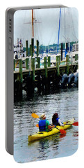 Boat - Kayaking In Newport Ri Portable Battery Charger