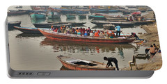 The Journey - Varanasi India Portable Battery Charger