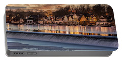 Boathouse Row Philadelphia Pa Portable Battery Charger