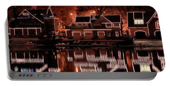 Boathouse Row Reflection Portable Battery Charger