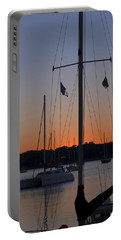 Boats At Beaufort Portable Battery Charger
