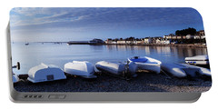 Boats On The Beach, Instow, North Portable Battery Charger