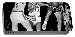 Bob Cousy Passes Basketball Portable Battery Charger