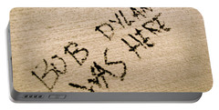 Bob Dylan Graffiti Portable Battery Charger