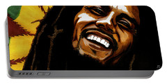 Bob Marley Rastafarian Portable Battery Charger