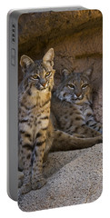 Portable Battery Charger featuring the photograph Bobcat 8 by Arterra Picture Library