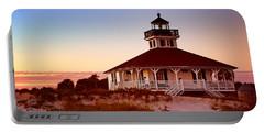 Boca Grande Lighthouse - Florida Portable Battery Charger by Nikolyn McDonald