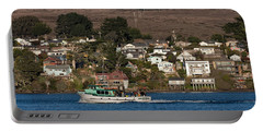 Bodega Bay In December Portable Battery Charger