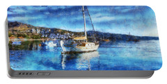 Bodrum Bay In Turkey Portable Battery Charger
