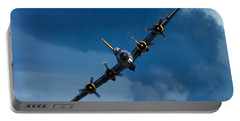 Boeing B-17 Flying Fortress Portable Battery Charger by Adam Romanowicz