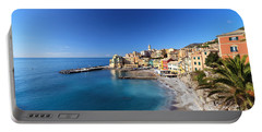 Bogliasco Village. Italy Portable Battery Charger
