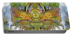 Portable Battery Charger featuring the digital art Bogomil Variation 11 by Otto Rapp