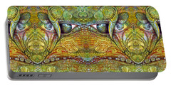 Portable Battery Charger featuring the digital art Bogomil Variation 12 by Otto Rapp