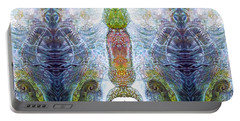 Portable Battery Charger featuring the digital art Bogomil Variation 13 by Otto Rapp