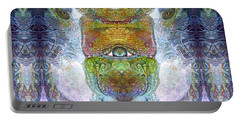 Portable Battery Charger featuring the digital art Bogomil Variation 15 by Otto Rapp