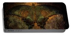 Bohemia Butterfly - Art Nouveau Portable Battery Charger by Absinthe Art By Michelle LeAnn Scott
