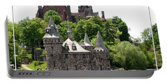 Boldt Castle And Powerhouse Portable Battery Charger by Rose Santuci-Sofranko