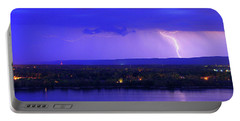 Bolt Over Gatineau Hills  Portable Battery Charger