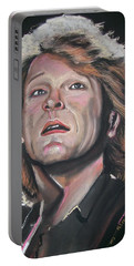 Bon Jovi Portable Battery Charger by Peter Suhocke