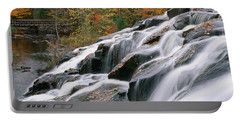 Bond Falls Upper Peninsula Michigan Portable Battery Charger