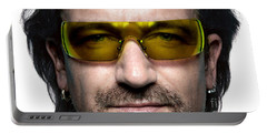 Bono  Portable Battery Charger by Marvin Blaine